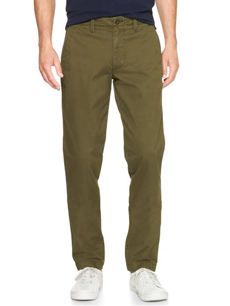 Lived-In Khakis in Slim Fit with GapFlex