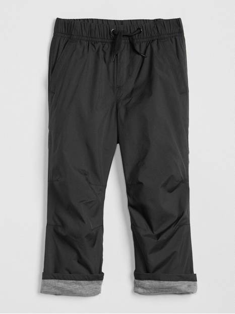 Toddler Pull-On Lined Pants In Twill