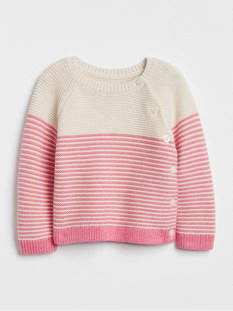 Baby Brannan Bear Stripe Sweater