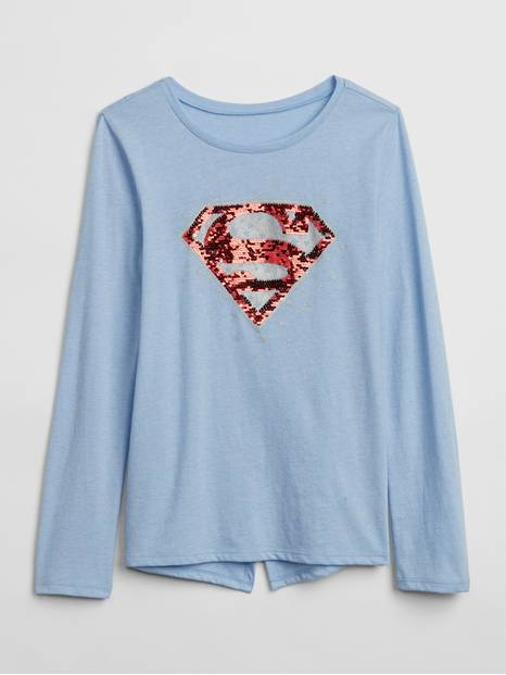 GapKids &#124 DC&#153 Wonder Woman Flippy Sequin T-Shirt