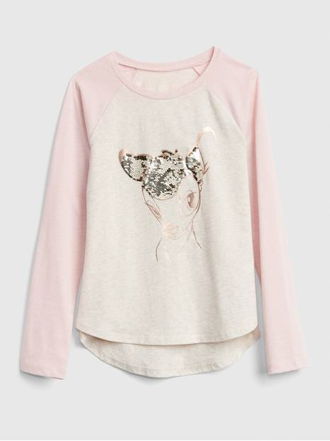 GapKids &#124 Disney Flippy Sequin T-Shirt