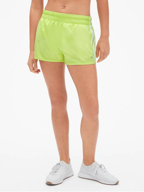 "GapFit 3"" Side-Stripe Running Shorts"