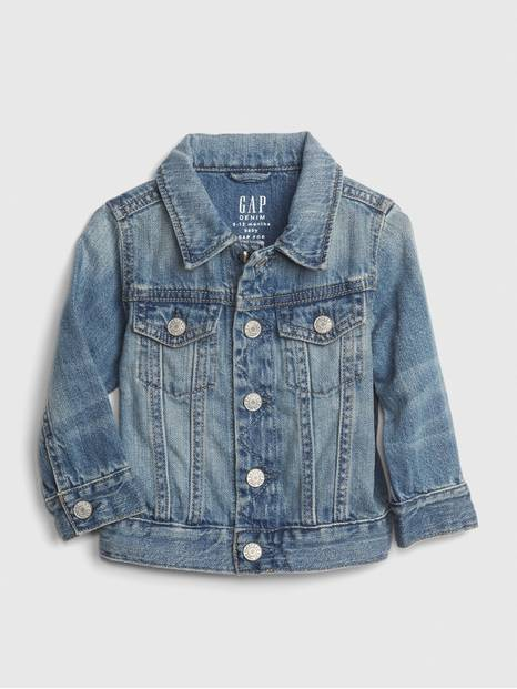 Baby Organic Cotton Icon Denim Jacket