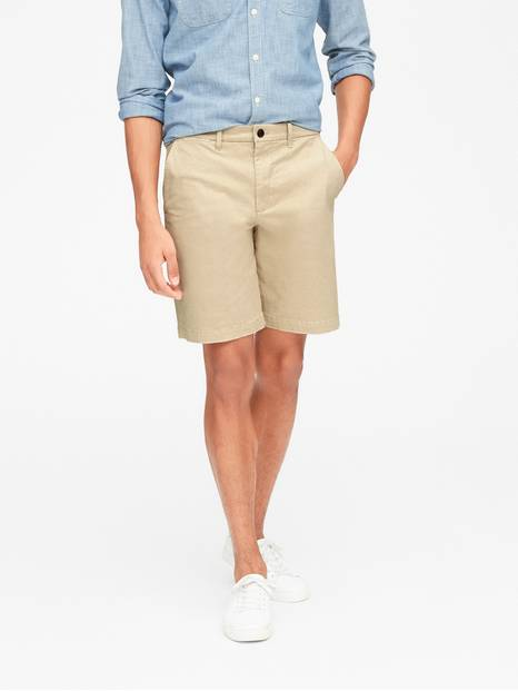 "10"" Vintage Khaki Shorts with GapFlex"