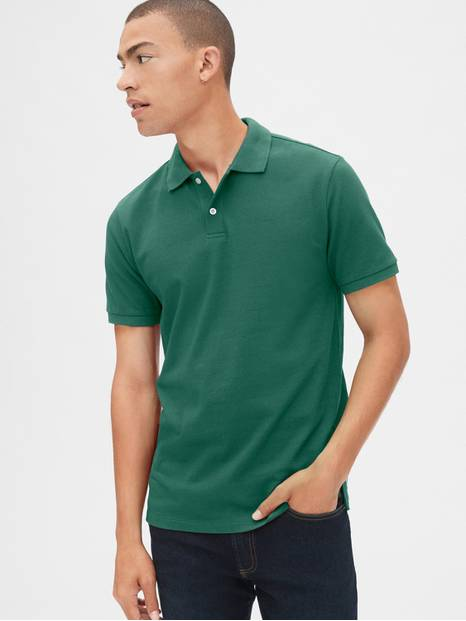 All-Day Pique Polo Shirt
