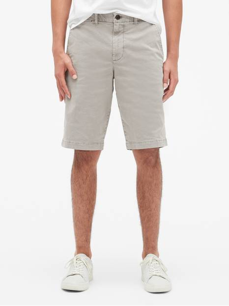 "12"" Vintage Khaki Shorts with GapFlex"