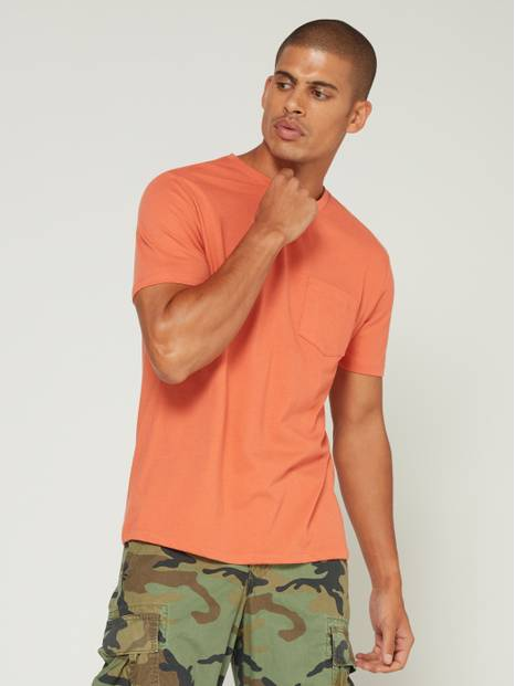 Everyday Short Sleeve Pocket T-Shirt