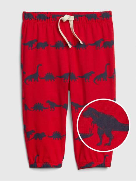 Baby Dino Pull-On Pants