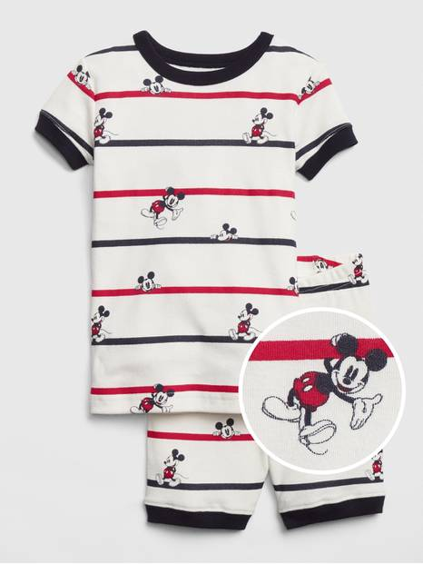 babyGap &#124 Disney Mickey Mouse Short PJ Set