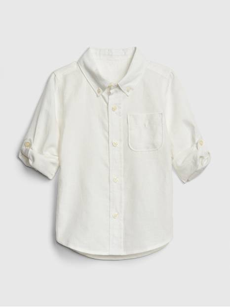 Toddler Convertible Shirt In Linen