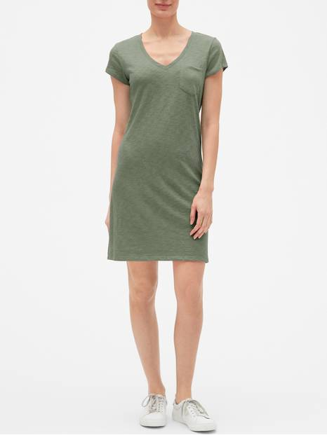 Short Sleeve T Dress