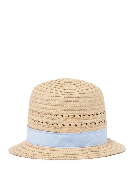Kids Chambray Fedora Hat