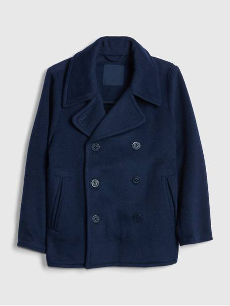 Kids Wool Peacoat