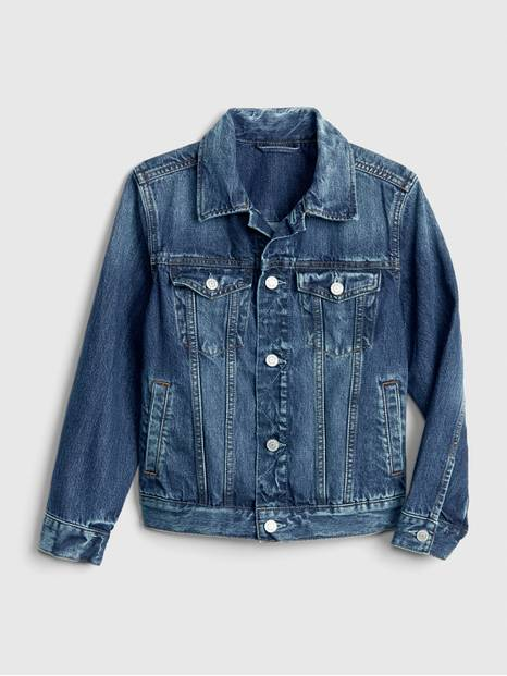 Kids Denim Icon Jacket