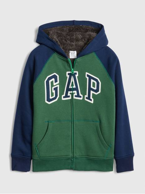 Kids Cozy-Lined Gap Logo Sweatshirt