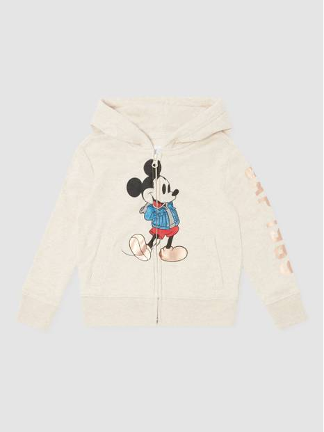 Kids Disney Mickey Mouse Full-Zip Hoodie