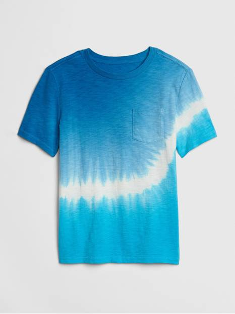 Kids Tie-Dye Short Sleeve T-Shirt