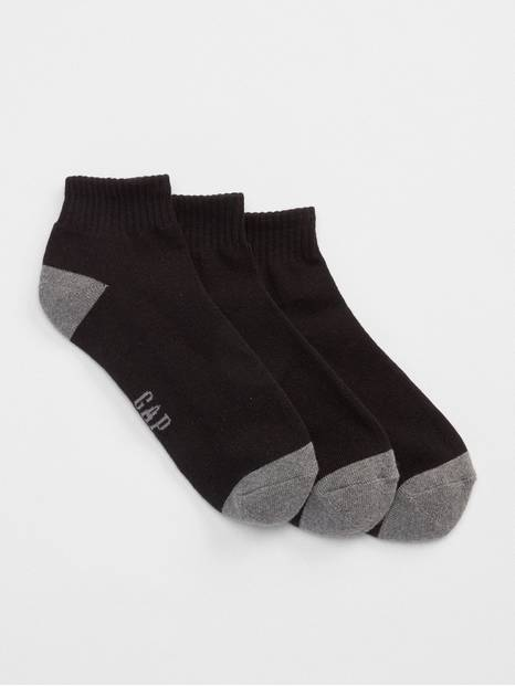 Quarter Crew Socks (3-pack)