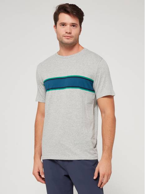 Everyday Stripe Short Sleeve Crewneck T-Shirt