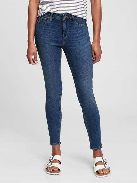 Mid Rise Favorite Ankle Legging Jeans