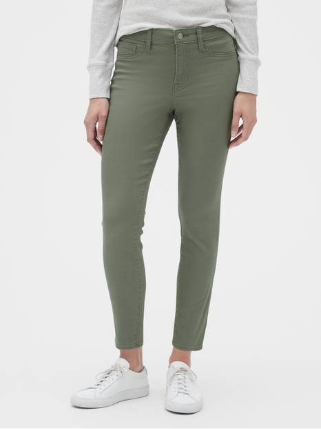 Mid Rise Cropped Favorite Legging Jeans