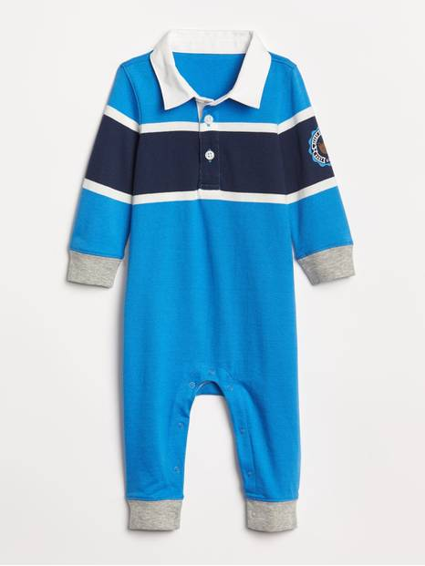 Baby Brannan Bear Polo One-Piece