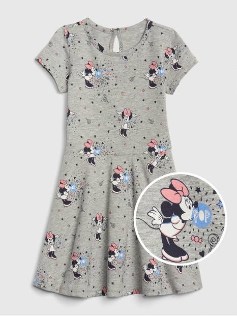babyGap &#124 Disney Minnie Mouse Fit and Flare Dress