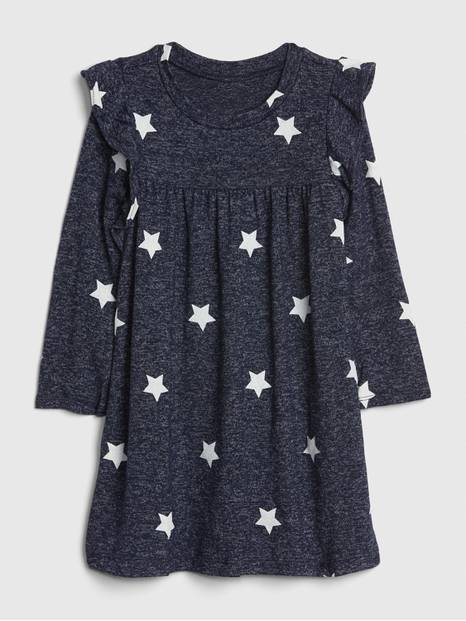 Toddler Ruffle Softspun Dress