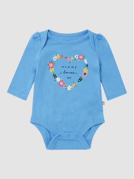 BabyGap Long Sleeve Graphic Bodysuit