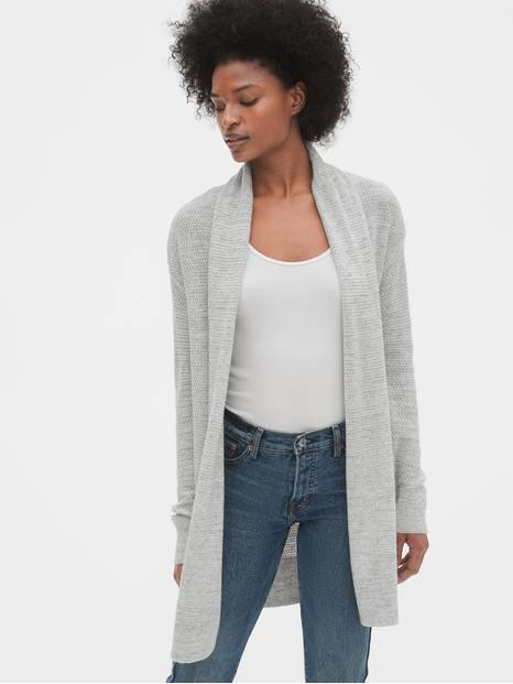 True Soft Shawl Collar Cardigan Sweater