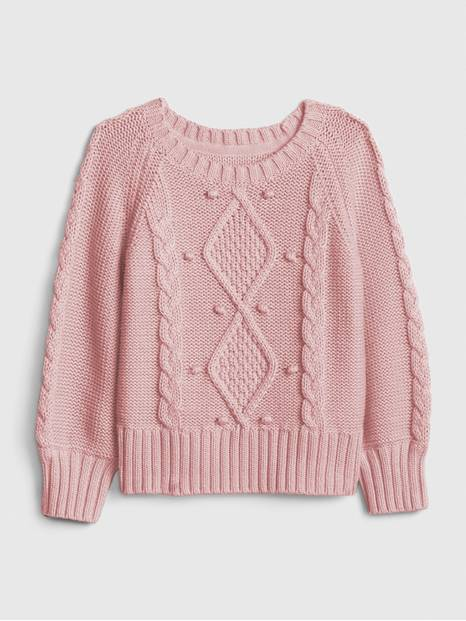 Toddler Cable-Knit Sweater