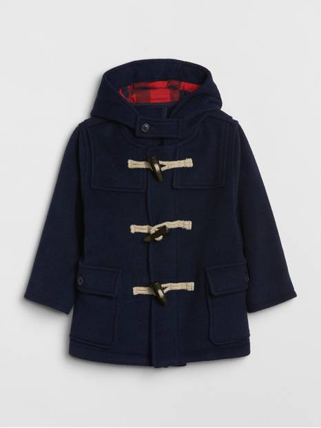 Toddler Wool-Blend Toggle Coat