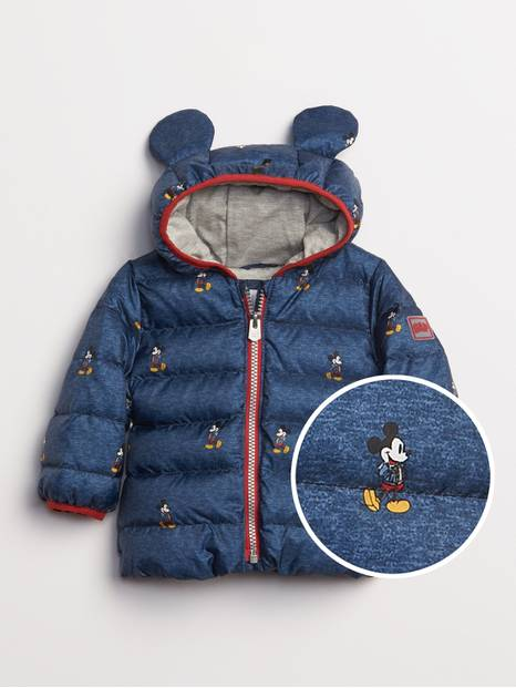 babyGap &#124 Disney Mickey Mouse ColdControl UltraMax Down Puffer