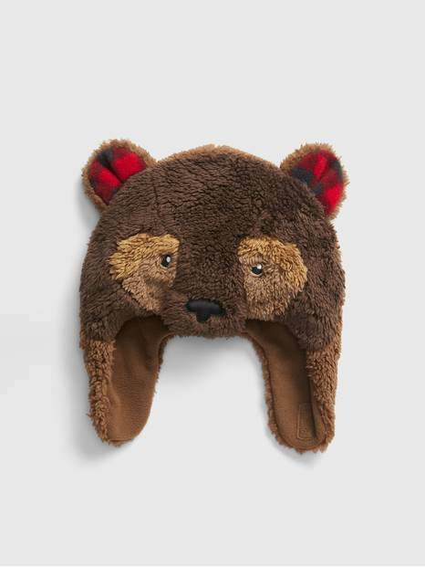 Toddler Bear Trapper Hat