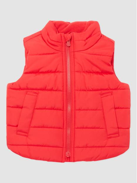 ToddlerGap Warm Sherpa-Lined Puffer Vest