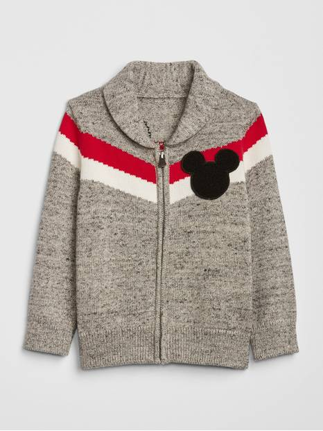 babyGap &#124 Disney Mickey Mouse Zip Sweater
