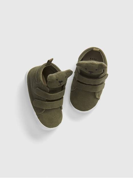 Baby Brannan Bear Cord Hi-Top Sneakers