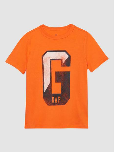 Kids Gap Logo Crewneck Short Sleeve T-Shirt