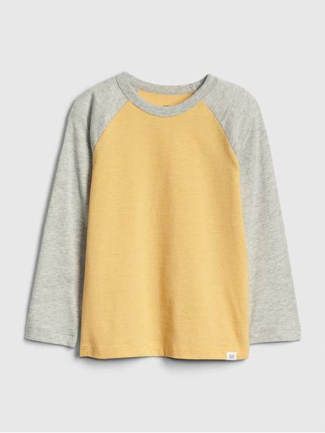 Toddler Pinstripe Raglan T-Shirt