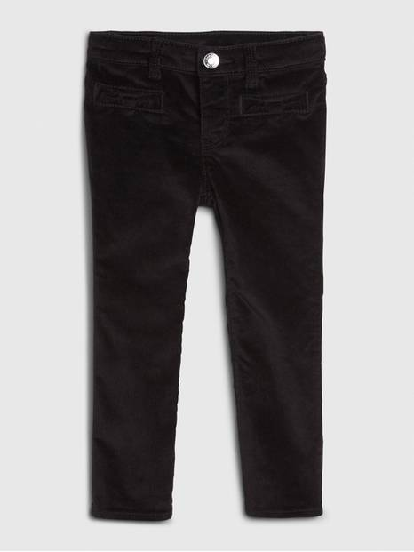 Toddler Velvet Super Skinny Jeans