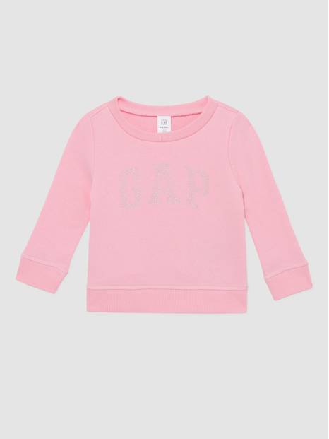 Toddler Gap French Terry Logo Crewneck Sweatshirt