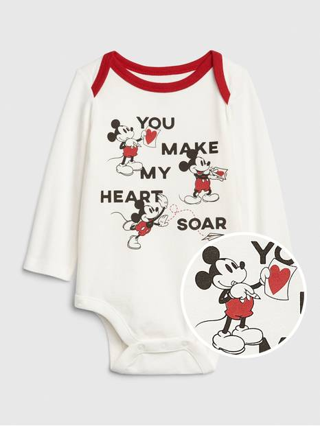 babyGap &#124 Disney Mickey Mouse Bodysuit