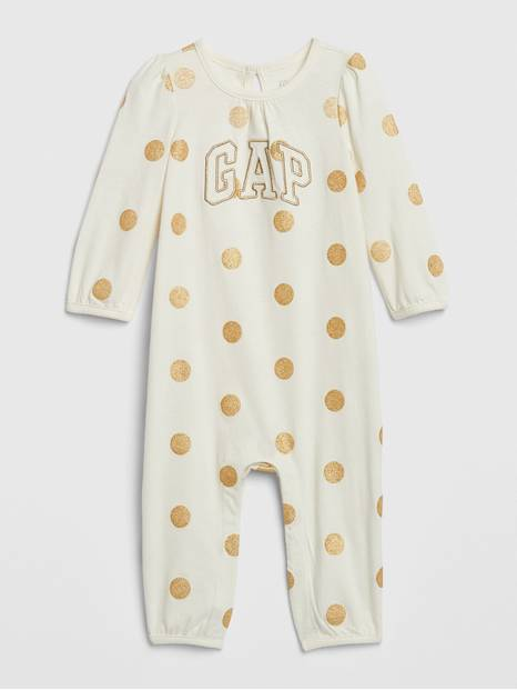 Baby Gap Logo Glitter One-Piece