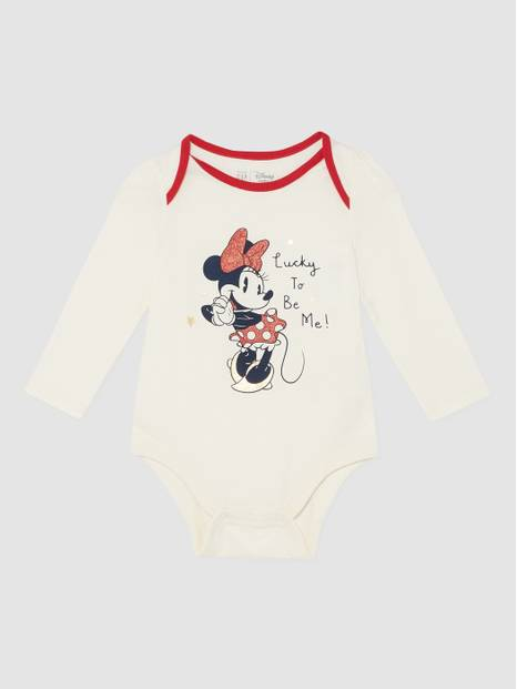 Baby Gap Disney Holiday Graphic Bodysuit