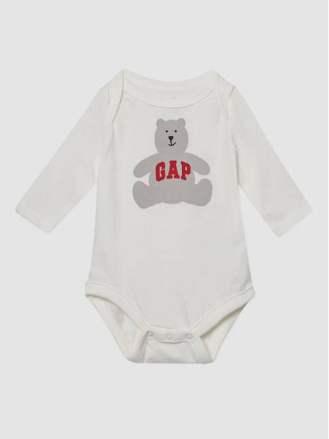 Baby Gap Logo Bear Graphic Bodysuit