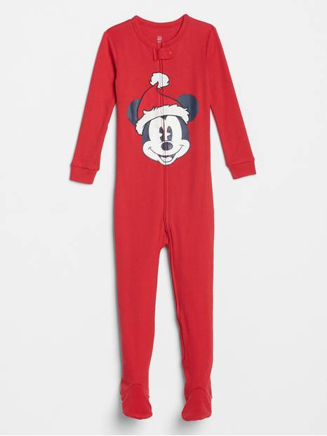 babyGap &#124 Disney Mickey Mouse Footed One-Piece