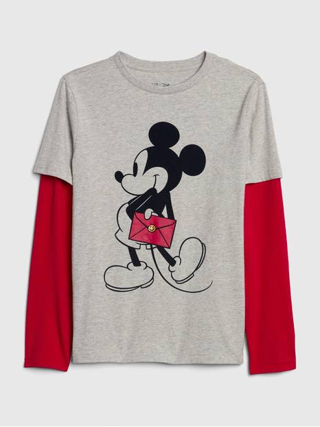 GapKids &#124 Disney Mickey Mouse 2-in-1 T-Shirt