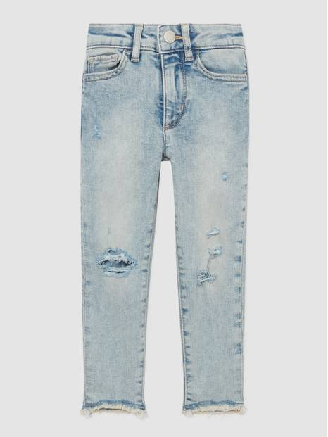 Kids High-Rise Distressed Jeggings