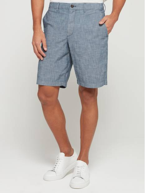 "10"" Chambray Shorts with GapFlex"