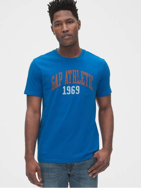 Gap Athletic Logo Pocket T-Shirt